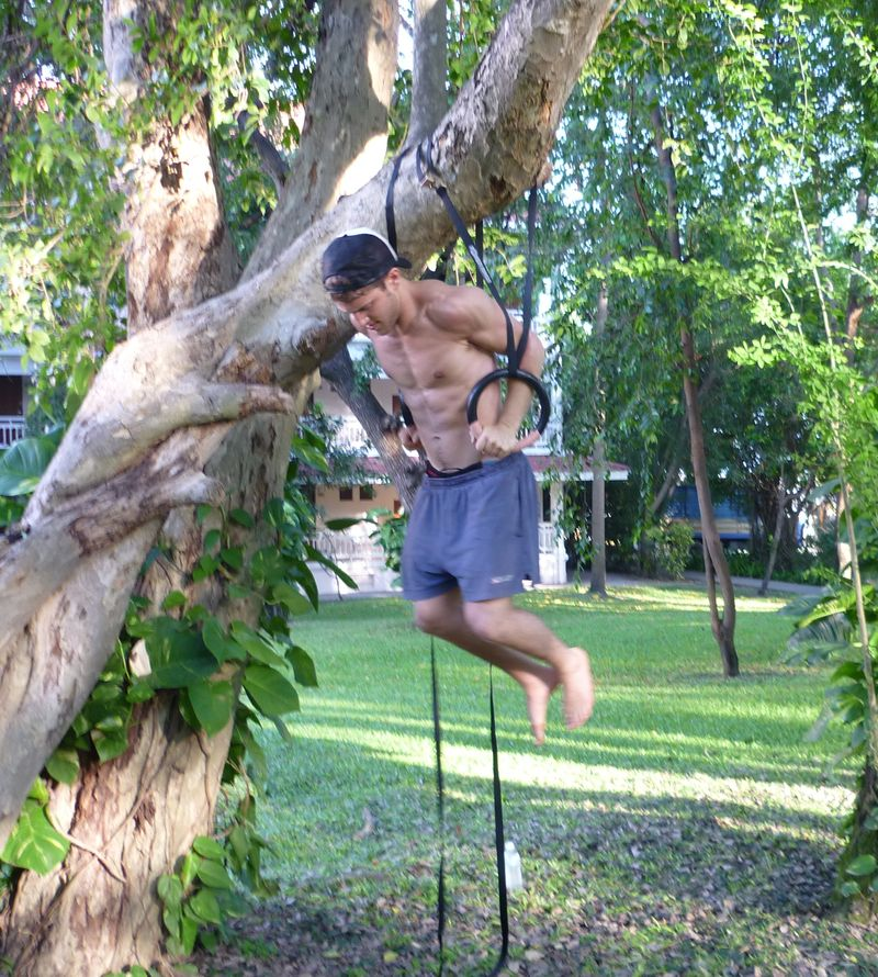 P1000197 brett training in tree