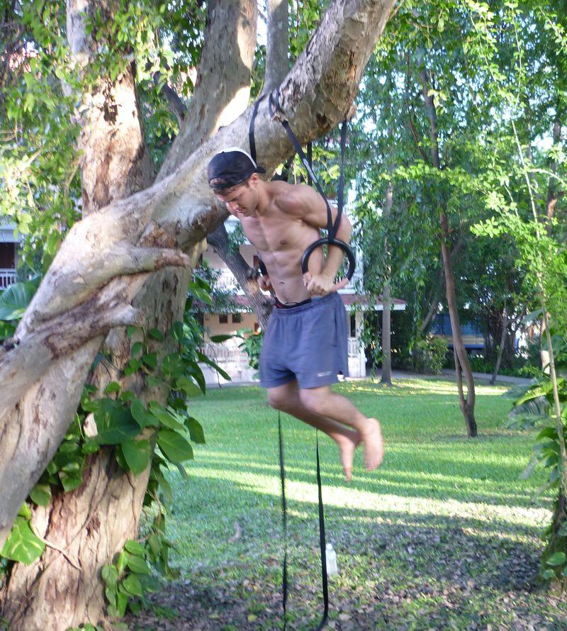 P1000197 brett training in tree