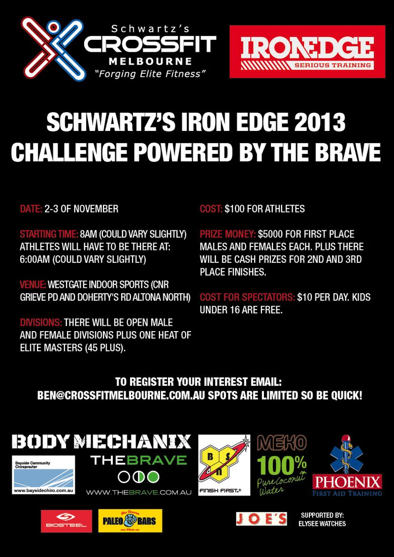 Crossfit Challenge flyer_web