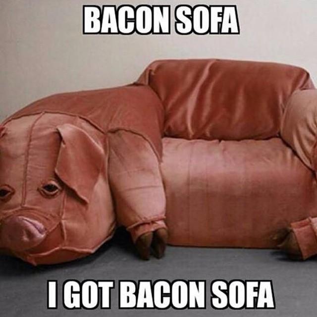 Baconsofa